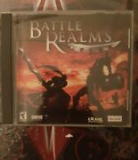 Battle Realms Pc Cd-rom 2001 Windows Fantasy Real-time Strategy Game