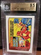 2017 Wacky Packages Hackand039em Blackmail Bgs 9.5 Gem Mint Sticker Only 342 Made