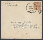 Us 1944 Japanese Hunt Idaho Internment Camp Cover - 1.5c Prexie