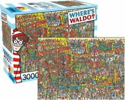 New Aquarius Jigsaw Puzzles Deluxe 3000 Pce Puzzle - Where's Waldo Collage