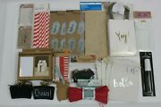 Gift Wrapping Milk Crates, Raffia, Wooden Tags, Coffee Bags, Canvas Bags, Flags