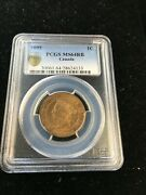 1895 Pcgs Graded Canadian Large One Cent Ms-64