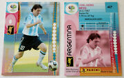 Panini Soccer Trading Card Lionel Messi No. 47 World Cup Germany 2006 Rare