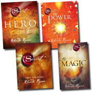 Secret Series 4 Books Young Adult Collection Nonfiction Set By Rhonda Byrne