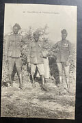 Mint French Africa Real Picture Postcard Senegalese Shooting Officers