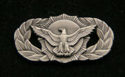 Basic Security Police Qualification Badge Us Air Force Lapel Hat Pin Up Afb Wow