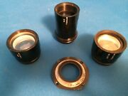 Mitchell Nc/gc 35mm Movie /motion Picture Camera Viewfinder Glass Elements 3