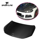 Carbon Fiber Auto Engine Hoods Cover Fit For Volkswagen Vw Scirocco R 09-14