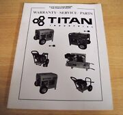 Auction Sale No Reserve Titan Flat Rate And Shop Manual For Titan 5.5hp Engine