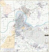 Fort Smith, Ar Wall Map