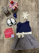 American Girl - Pet Show Outfit Trophy Set And Charm
