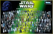 Vintage 1990's Hasbro Kenner Star Wars Power Of The Force 2 3.75 Vehicles New