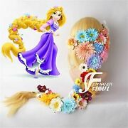 Rapunzel Rapunzel On The Tower In Cosplay Wig