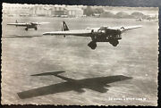 Mint France Early Aviation Real Picture Postcard Amiot 143 Airplanes Formation