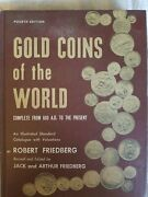Gold Coins Of The World 600 Ad - Present By Robert Friedberg Coin Reference Book