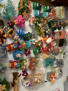 Vintage 1980andrsquos Collectible Happy Meal Mc Donalds Lot More Than 60 Figures E92