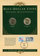 United States Coins Of The 20th Century 1976d And 1976s Kennedy Half Dollars