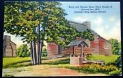 1940s Berry And Lincoln Store Stock Bought Of Greene New Salem Illinois