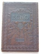 1931 Hume Fogg High School Yearbook Nashville Tennessee Echo Unmarked