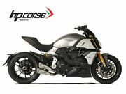Pair Silencers Hydroform Hp Corse Frosted Ducati Diavel 1260 2018-2020