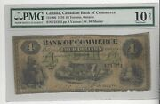 1870 Canadian Bank Of Commerce 4 / Cat751006 Sn 121592 Pmg Vg-10 Net