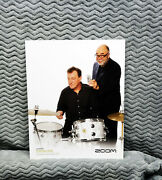 Neil Peart And Peter Erskine Zoom Promo Photo