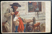 1910s Austria Picture Postcard Cover To Chicago Usa Unclaimed Forwarded Prague