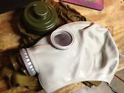 Rubber Respirator Face Mask Protection Halloween Mask Large Camo Cosplay W/bag