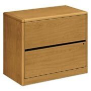 Hon 2-drawer Lateral File, 36 By 20 By 29-1/2-inch, Harvest