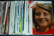 Huge Lot Of 99 Jodie Foster 1970s/1980s Japan Picture Clippings