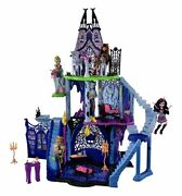 Monster High School Catacombs Doll House Preowned