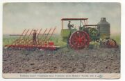 1910 Advertising Postcard For The Rumely Oil Pull Tractor