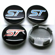 Brand New 4pcs 54mm S Wheel Center Hub Caps Fit For S-t 6m21-1003 Blue Or Red