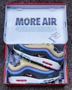 Air Max 1/97 Sean Wotherspoon Size 10 Mens 100 Authentic Extra Laces Set Signed
