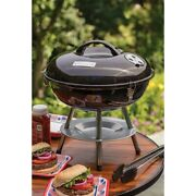 Small Grill Charcoal Cooker Coal Outdoor Grate Camping Grills Table Top With Lid