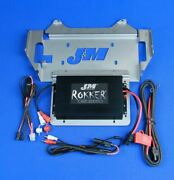 Jandm Audio Stage 5 400 Watt 2 Channel Amp Kit 2014 And Up Harley Street Glide Ultra
