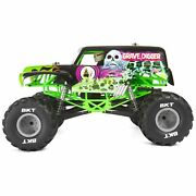 Smt10 Grave Digger 4wd Monster Truck Rtr 1/10 Scale Axial Axi03019
