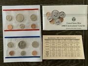 Lot Of 5 1988 P And D United States Mint Uncirculated Coin Set W/envelope