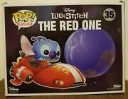 Funko Pop Rides Disney Lilo And Stitch The Red One 35 Box Lunch Exclusive