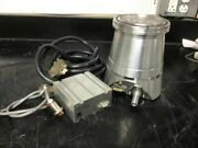 Leybold Tw 250 S Tw250s Turbo Molecular Pump W/tds Controller And Cables
