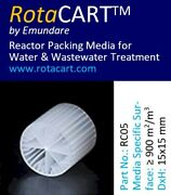 Moving Bed Biofilm Reactor Mbbr Media 1 M3 Of Rc05 More Surface Than Kaldnes K2