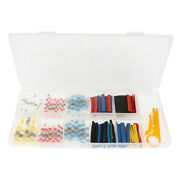 Solder Ring Terminal Electrical Wire Connector 110pcs With Heat Shrink Tube 80pc