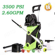 Homdox 3500psi 2.6gpm Electric Pressure Washer Powerful Water Cleaner Machines