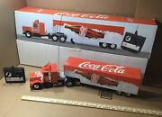 Coca-cola Remote Controlled Semi Truck Mb Exclusive Madelle Germany