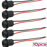 10pcs T10 168 194 W5w Female Socket Adapter Connector Extension Wiring Harness