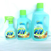 Fit Fruit And Vegetable Wash Soaking And Spray Bottle 2 Refills Proctor Gamble
