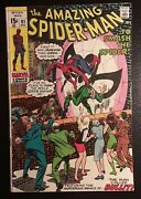 Amazing Spider-man 91 Fn White Pgs Funeral Of Capt. Stacy Beautiful Book
