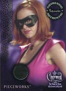 Charmed Power Of The Three Pieceworks Card Pw4 Black Rose Mcgowan