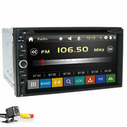 Double 2din In Dash Sony Cd Lens 7car Stereo Radio Dvd Player Aux Bt Tv Mp3 Mic