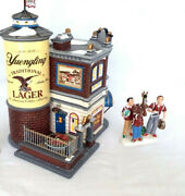 Dept 56 55626 Yuengling Lager Beer Bar Tavern And Accessory 56.799973 New